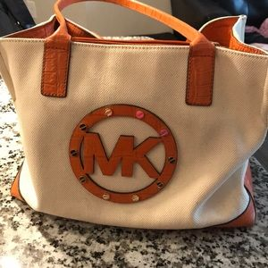 Michael Kors Canvas Purse
